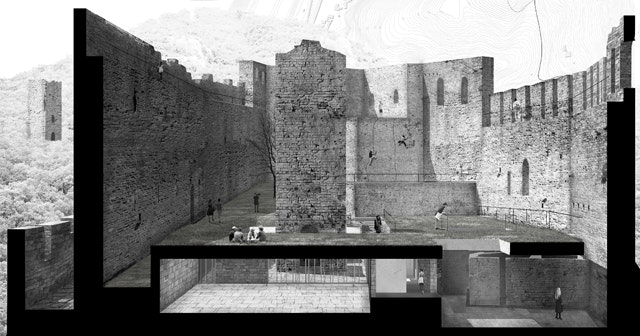 Re-use the Castle: Ideen für eine neue Nutzung der Rocca di Ripafratta in San Giuliano Terme (IT)