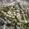 Bildung von Gemeinschaften in einer grünen Stadtlandschaft