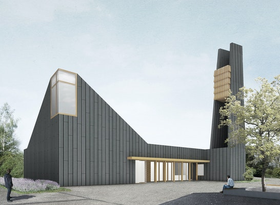 1. Preis: Perspektive, © DEEN architects