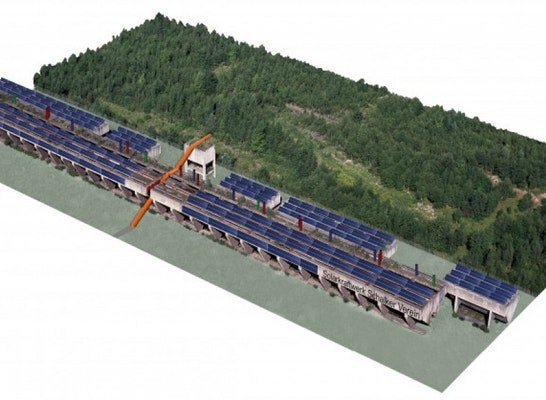 Solarkraftwerk Erzbunker
