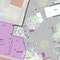 Lageplan des Platzes