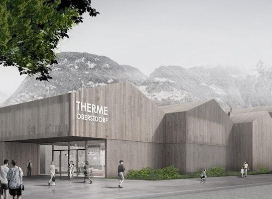 ein 1. Preis Zuschlag: Ansicht von der Promenadestraße