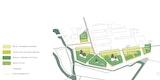 Isometrie Städtebaukonzept