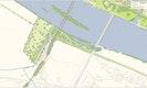 Daueranlage rechte DonauseiteFußgängerbrücke