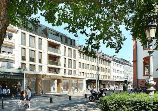 1. Preis Fassade Schillerstraße: © FAERBER ARCHITEKTEN