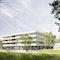 hks | architekten, Wettbewerb, 1.Preis, Verfügungsgebäude Büro Forschungszentrum Jülich, Perspektive