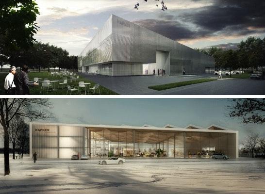 1. Preis: Zwei 1. Preise: oben gernot schulz : architektur mit club L94, unten Allmann Sattler Wappner Architekten