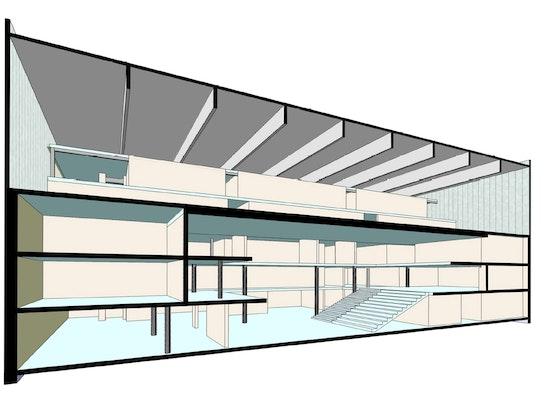 3D-Modell Visualisierung Tragwerksplanung