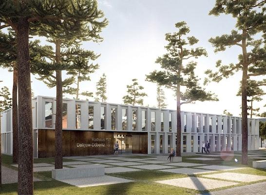 Zuschlag: Perspektive, © LANKES KOENGETER / Lieb + Lieb Architekten BDA