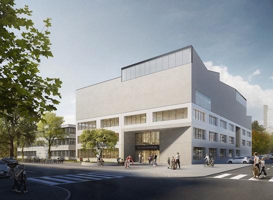 Chausseestraße Ecke Boyenstraße    léonwohlhage Architekten