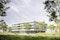 Neubau Verfügungsgebäude Forschungszentrum Jülich_Perspektive