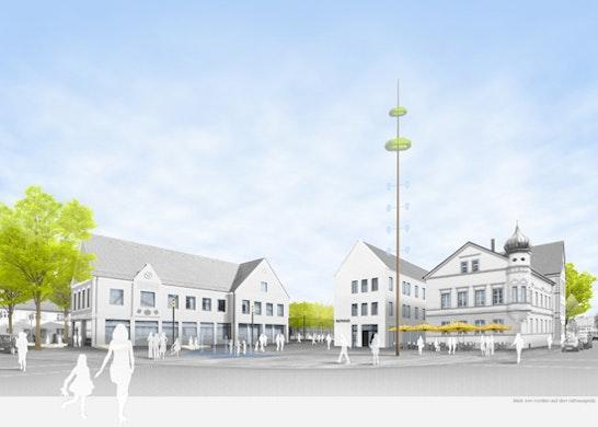 neue Stadtmitte Thannhausen