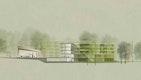 Quartiersentwicklung St. Johannes Maria Vianney - Schnittansicht - dasch zürn architekten