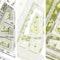 drei 1. Preise: links steidle architekten / mittig: baum-kappler architekten gmbh mit Johannes Kappler Architektur und Städtebau mit Adler & Olesch Landschaftsarchitekten / rechts Robert Meyer und Tobias Karlhuber Architekten