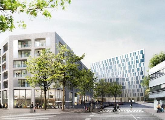 1. Preis Variante 1: © Schenk + Waiblinger Architekten, Lichtenstein Landschaftsarchitekten