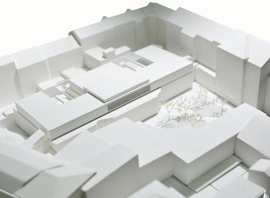 1. Rang: Modell, © YF architekten zt gmbh