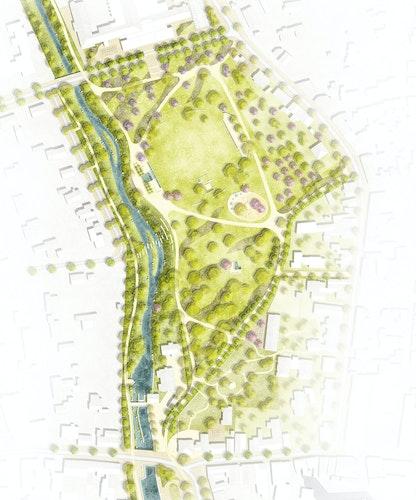 Neugestaltung des Stadtparks in Ahlen