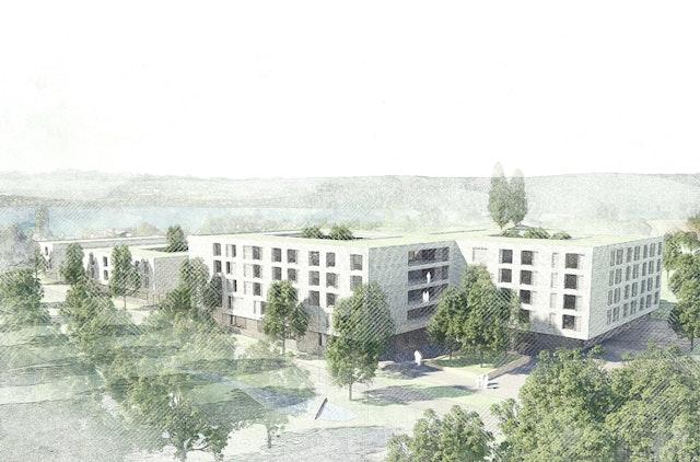 """Neubau eines Pflegezentrums im Neubaugebiet """"Südlich Härlen"""" Überlingen"""