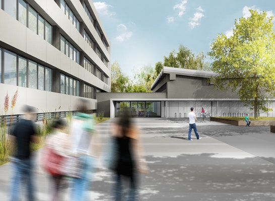 Sprachheilschule Chemnitz - Außenperspektive Bestand