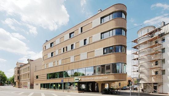 Architekturpreis der Stadt Leipzig 2019: Holzhaus Leipzig-Lindenau, ASUNA - Atelier für strategische und nachhaltige Architektur, Foto: Peter Eichler, © ASUNA - Atelier für strategische und nachhaltige Architektur