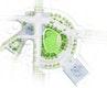 Gestaltungskonzept Platz der Luftbrücke, M 1:500