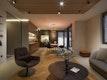 Wohnbereich mit Holzlamellendecke