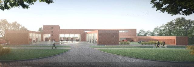 Neubau der Feuer-und Rettungswache Nord in Kiel-Holtenau