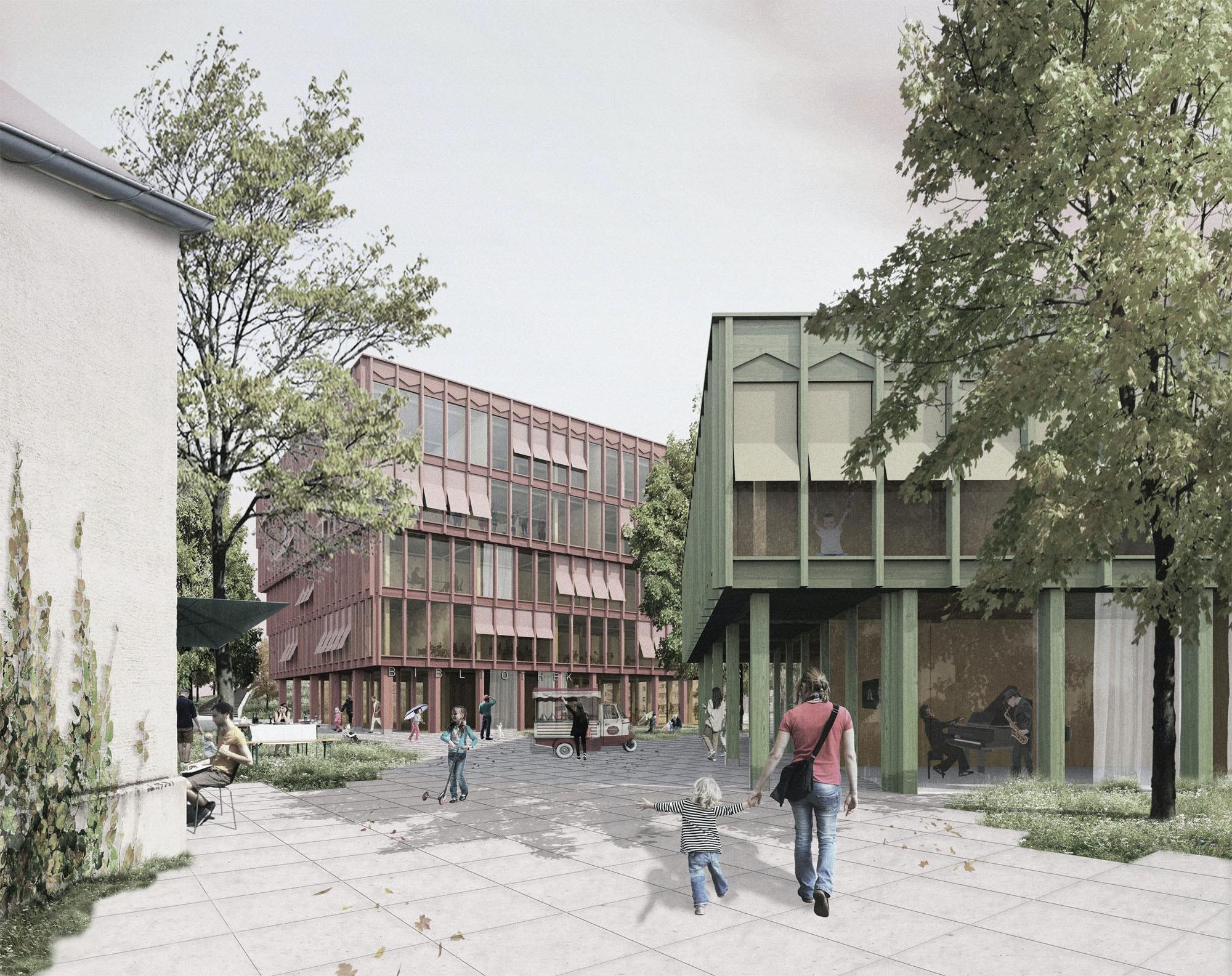 Ergebnis: Neue Stadtmitte Puchheim...competitionline