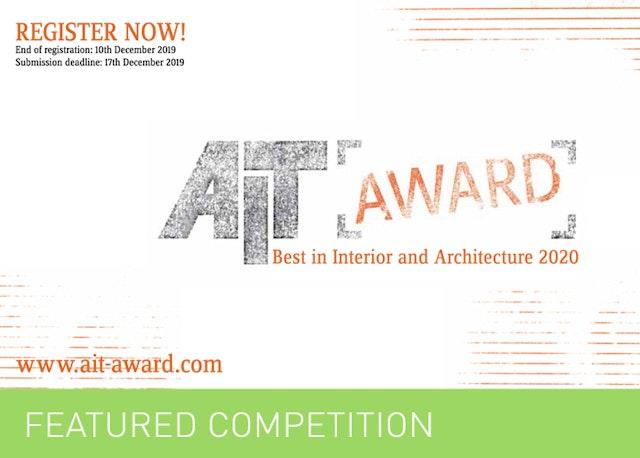 AIT‐Award2020- BestofArchitectureandInterior