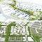 Zwei 1. Preise:  oben Kéré Architecture, MAN MADE LAND, Schultz-Granberg - Städtebau und Architektur; unten LEHENdrei, Stefan Fromm Landschaftsarchitekten