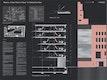 Tragwerk, Detail, Fassadenschnitt + -ansicht
