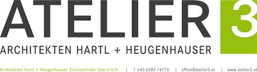 ATELIER 3 Architekten Hartl + Heugenhauser ZT-GmbH