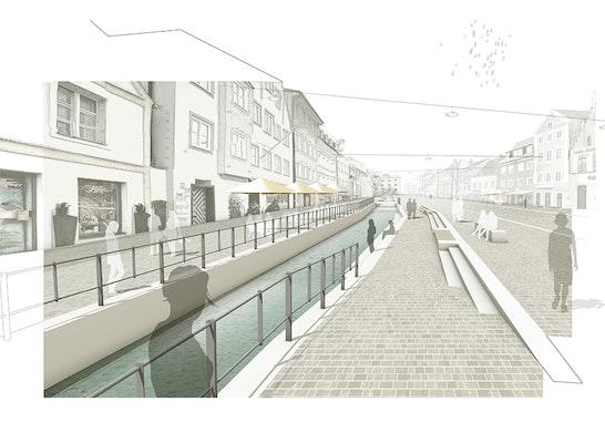 3. Preis Obere u. Untere Hauptstraße, Seitenstraßen u. Moosachöffnung
