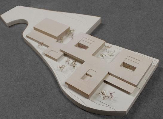 1. Preis: Modell (Maquette Modellbau, Mirko Henriquez, Berlin), © nak