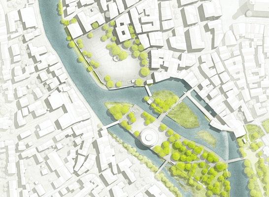 1. Preis Realisierungsteil A - Haalplatz I Zuschlag: © Franz Reschke Landschaftsarchitektur