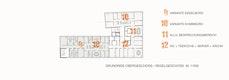 Grundriss - Obergeschoss / Regelgeschoss