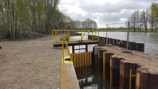 Örtliche Bauüberwachung – Ersatzneubau Wehr Hartmannsdorf mit Kahnschleuse und Fischwanderhilfe