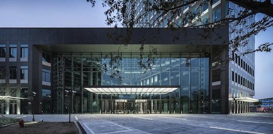 Haupteingang KIC Plaza Innovationcenter I