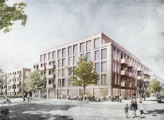 1. Preis: Visualisierung, © Schenk + Waiblinger Architekten