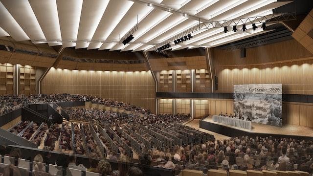 Modernisierung der Stadthalle in Karlsruhe