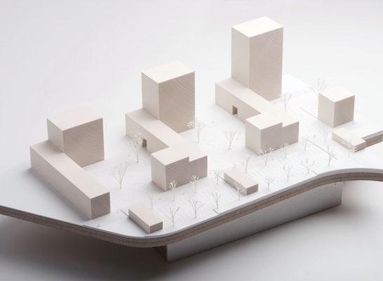 1. Preis Nach Überarbeitung: MODELL, © BAYER & STROBEL ARCHITEKTEN