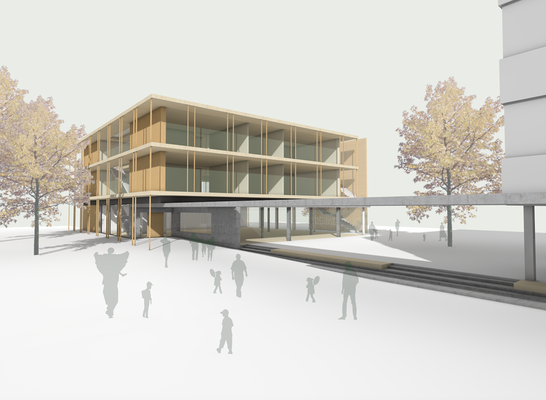 Zuschlag: © walter huber architekten gmbh