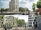 Zwei 1. Preise: oben - André Poitiers Architekt RIBA Stadtplaner; unten - Baumschlager Hutter Partners, p.arc