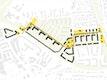 Übergeordnete Verbindung: Quartiersallee, Plätze und Freiflächen