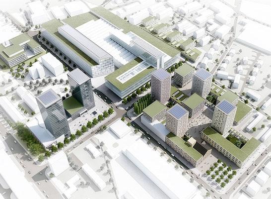 Gewinner: © Hosoya Schaefer Architects, Rendertaxi