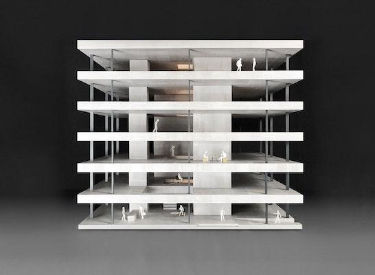 1. Preis: Modell, © bernardo bader architekten