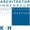 K+H   |   Kilian + Partner  PartGmbB, Freie Architekten, Stadtplaner und Innenarchitektin