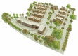 Städtebauliche Skizze  -  Blick von Südost
