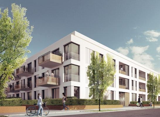 Gewinner Zur Realisierung empfohlen - Eigentumswohnungen: Strasse, © römer kögeler partner architekten