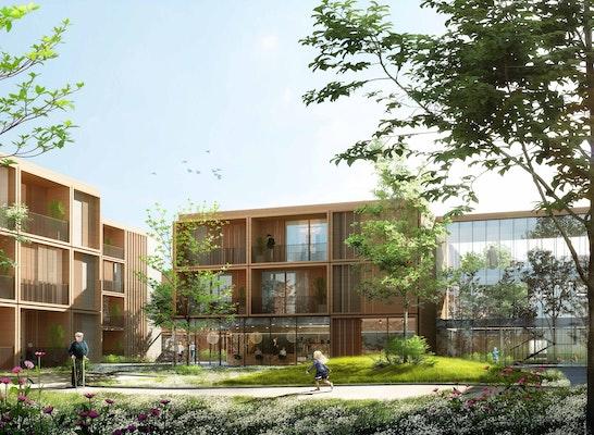 1. Preis: © Bewerbergemeinschaft DGI Bauwerk und GINA Barcelona Architects